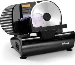 CUSIMAX Meat Slicer - Quality Built-In